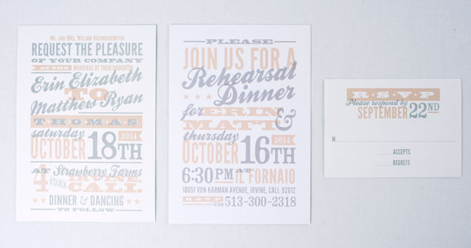 Erin & Matt Invitation
