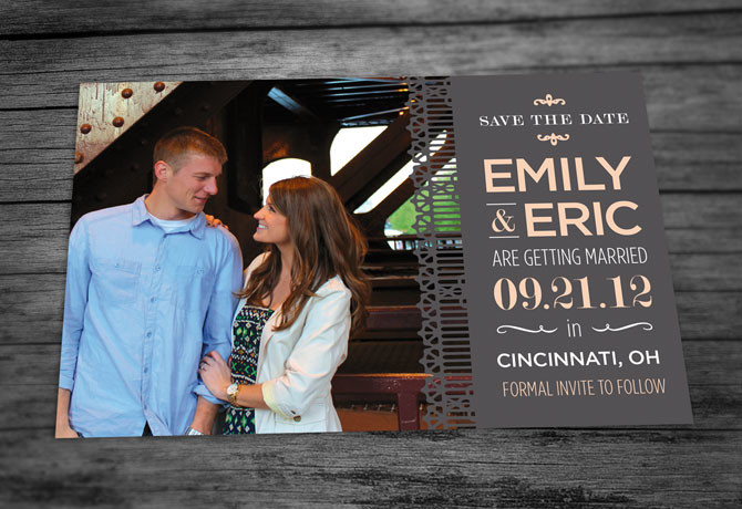 Emily & Eric Save the Date