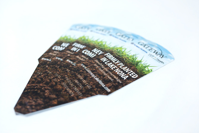 Plant Stake Marketing Cards